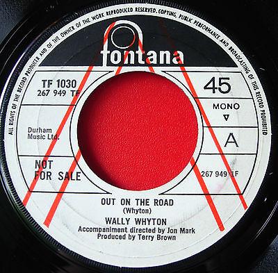 "Wally Whyton Out On The Road 7""UK PROMO '69 Folk Fontana TF 1030 Jig Along VINYL"