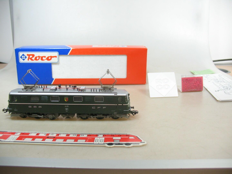 AO673-1   Roco H0 Locomotiva Elettrica 11425 SBB Ae 6/6 ,43986 per Marklin