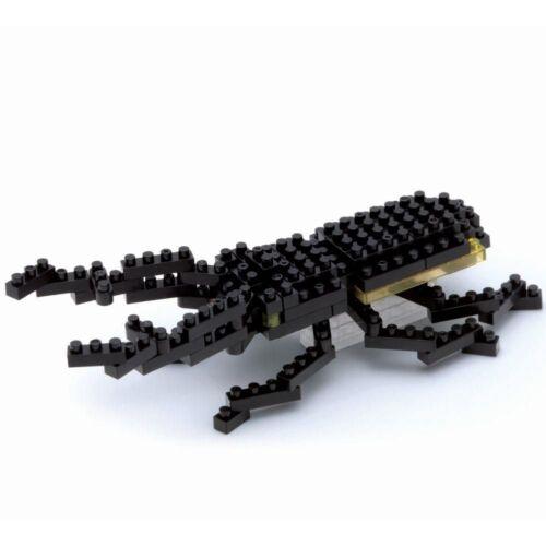 Stag Beetle Nanoblock Miniature Building Blocks New Sealed Pk 1st 002
