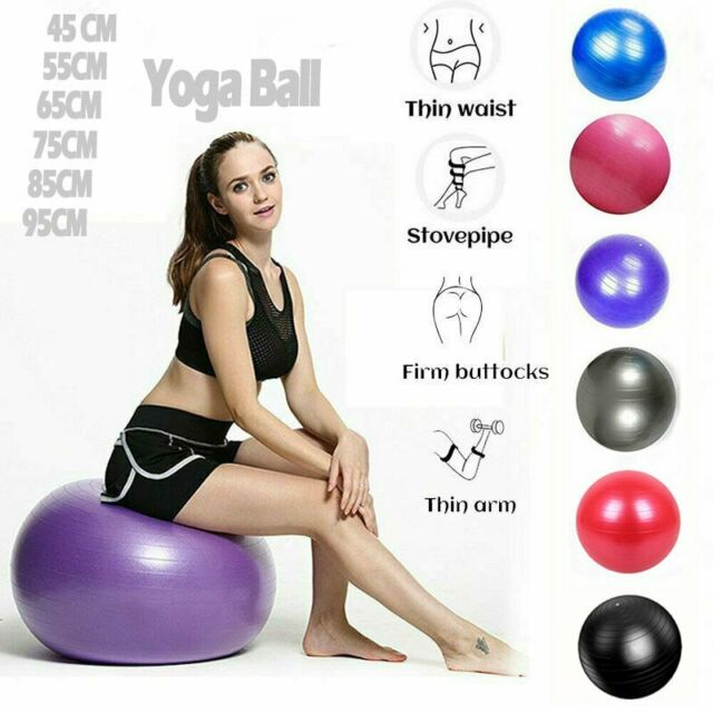 Yoga Ball for Child Youth Child Pregnancy Fitness Strength Exercise Workout 85cm