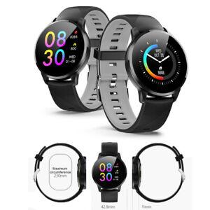 smart bluetooth watch herzfrequenzmesser fitness tracker für iphone ios android