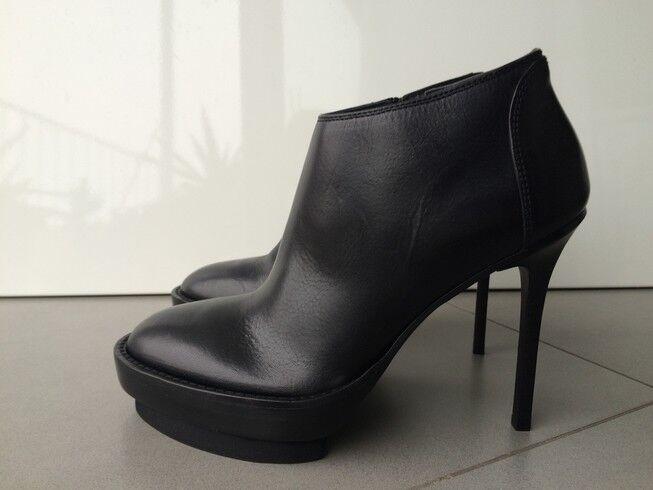 Nuevo en en en Caja Ann Demeulemeester Tacón Tobillo botas Zapatos 39 EE. UU. 9 Reino Unido 6   Venta  cómodamente