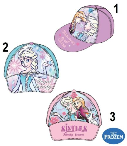 Disney Frozen Cap Basecap Capuchon Casquette De Chapeau 52-54