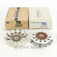 Nib Nos Vintage Lot Of 2 Centralab Ceramic Rotary Switch Wafers 1 Pol 6 Pos