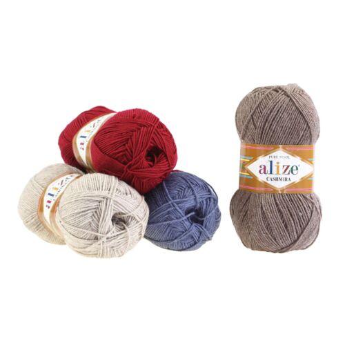 Strickgarn Alize Cashmira 100/% Wolle 6,97€//100g freie Farbwahl 100g