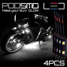 Rock Motorcycle Neon Lights White Underbody Glow Led Kit For Suzuki Gsxr 1000
