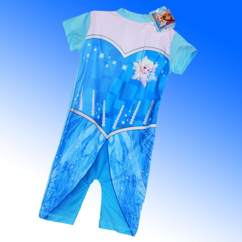 Sunsuit Swimsuit Sun Protection Swim Suit Princess Elsa Disney Frozen UV 50