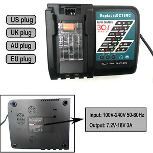 7-2-18V-Power-Tool-Battery-Charger-for-Makita-Power-Tool-Battery-DC18RC-DC18RA