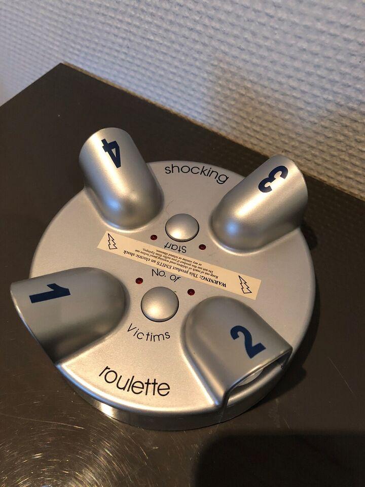 Shocking roulette, andet spil