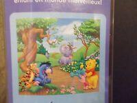 Winnie The Pooh Wall Mural Kids Room Nursery Stickers Disney Decor Bedroom