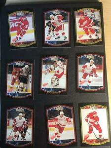 TEAM-SETS-Detroit-Red-Wings-U-Pick-From-List-Hockey-Cards-MAD