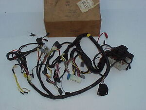 1972-Chrysler-NOS-MoPar-DASH-WIRING-HARNESS-Newport-New-Yorker-Town-amp-Country