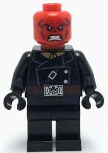 LEGO MARVEL DC UNIVERSE SUPER HEROES MINIFIGURE Red Skull ...