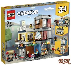 LEGO-Creator-3-in-1-31097-Stadthaus-mit-Zoohandlung-amp-Cafe-0-Vers-NEU-OVP