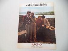 advertising Pubblicità 1980 MAGLIERIA RAGNO