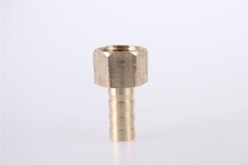 1//8BSP Rosca Hembra 6mm Adaptador Conector Acoplador Manguera Tubería 5 un.