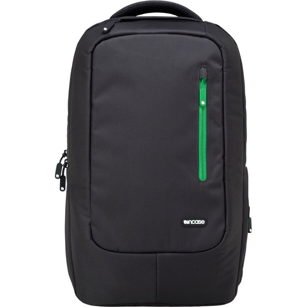 "outlet store 04387 0f735 Details about Incase Travel Nylon Backpack for MacBook Pro 13"" & 15"" -  CL55309 Dark Gray/Green"