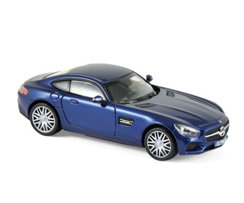 Norev 351348 Mercedes AMG GTS bluee 2015 Model Car Scale 1 43 NEW  °