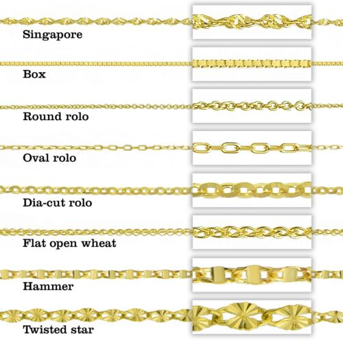 Style 7 14k Two Tone Gold Personalized Name Plate Necklace