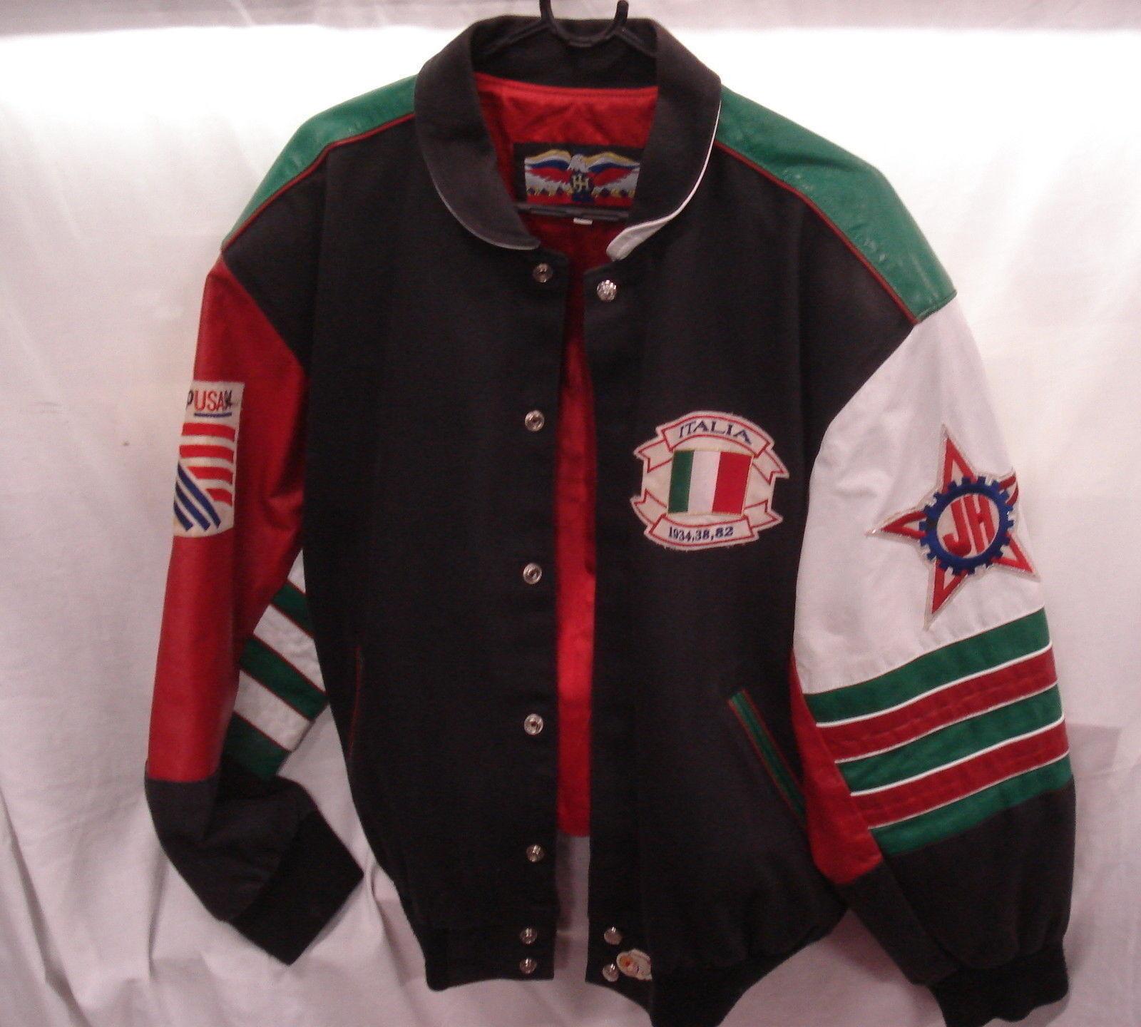 Italia Italia jh World Cup USA 1994 Chaqueta De Fútbol Soccer (Jeff Hamilton)