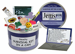 JEMSIDEAS-New-Parents-Survival-Kit-In-A-Can-Novelty-Mum-amp-Dad-Gift-With-Card