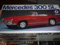 Entex 1959 Mercedes Benz 300 Sl 1/24 Model Car Mountain Kit