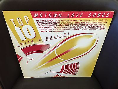 MOTOWN Love Songs Top 10 With a Bullet vinyl 2x LP EX Jackson 5 COMMODORES  1984 | eBay