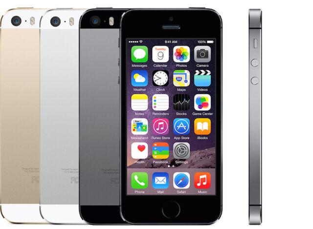 Apple iPhone 5s 16GB 32GB 64GB spacegrau silber gold ohne Simlock neuwertig