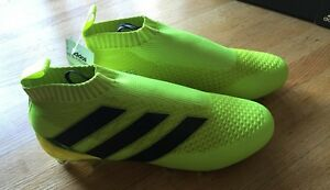 Image is loading adidas-ACE-16-Purecontrol-FG-AG-Solar-Yellow-
