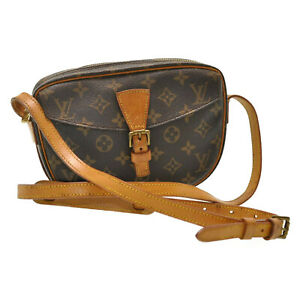 LOUIS-VUITTON-Monogram-Jeune-Fille-MM-Shoulder-Bag-M51226-LV-Auth-sa1817