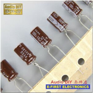 270uf 100v 105 ° C Capacitor NIPPON KY Series Low Impedance 12,5mm x 30mm