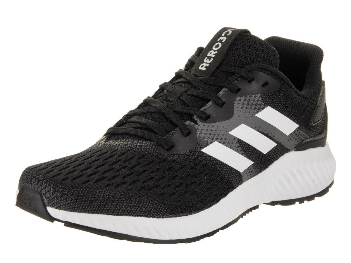 Adidas Aerobounce M BW0285 Black Grey mesh Upper Men Running shoes New Authentic