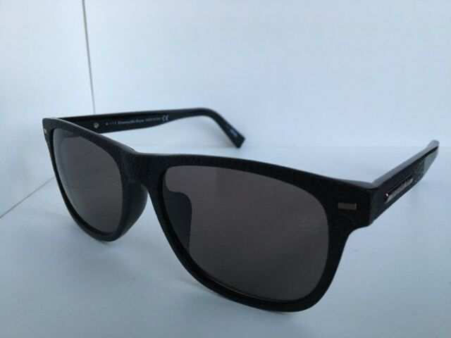 ec19ec6775 Ermenegildo Zegna EZ 0020-f 01a 56mm Italy Black Sunglasses for sale ...
