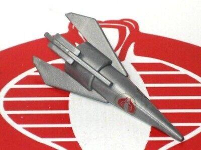 GI Joe Vehicle Cobra Rattler 1984 Missile Bomb Original Part #3