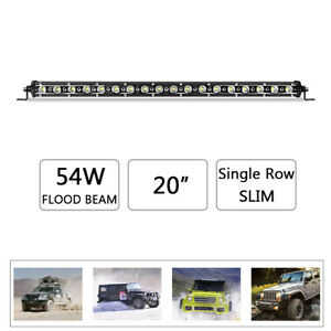 20inch-54W-LED-Light-Bar-Slim-Flood-Driving-Fog-Offroad-4WD-Work-Lamp-UTV-SUV