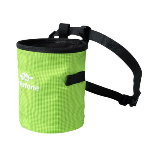 Chalk Bag with Quick Release Waist Belt for Rock Climbing Weight Lifting