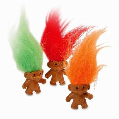 Retro Trolls Doll Mini Figures Trolls Figures Kids Party Bag Filler Fun Loot UK