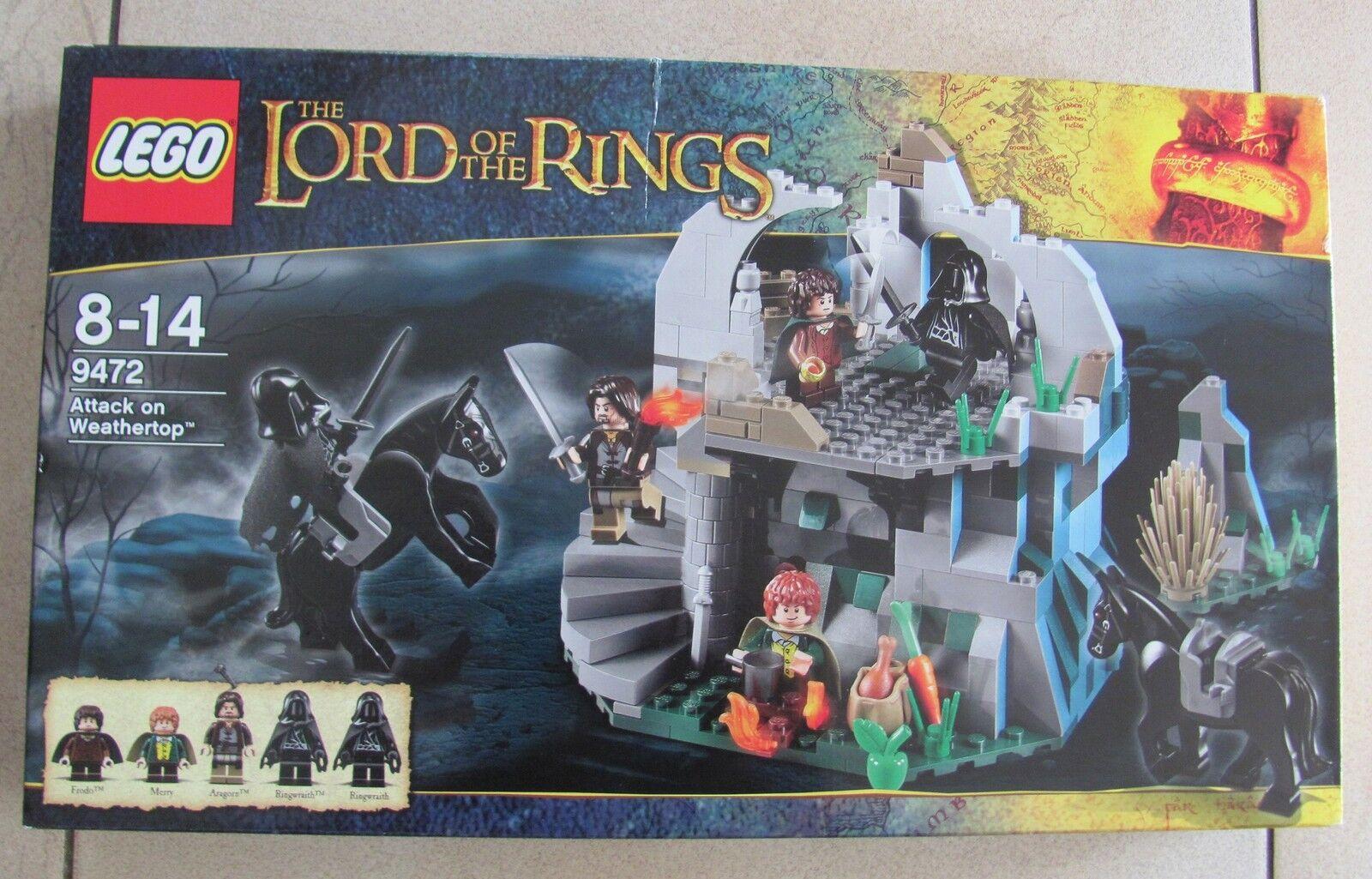 Lego 9472 Lord of the Rings Überfall auf die Wetterspitze Neu & OVP s. Beschreib