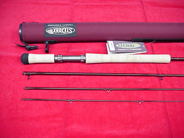 St Croix Fly Rod Imperial Switch 11ft  5 5 5 Line GREAT NEW 7d6e0c