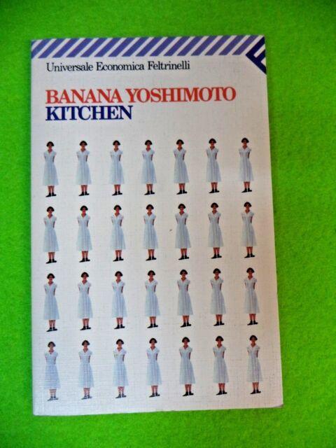 Book Libro KITCHEN di BANANA YOSHMOTO 1994 FELTRINELLI (L80c)