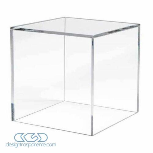Teca 35x30 H variabile Vetrina in plexiglass trasparente per Modellismo e Lego
