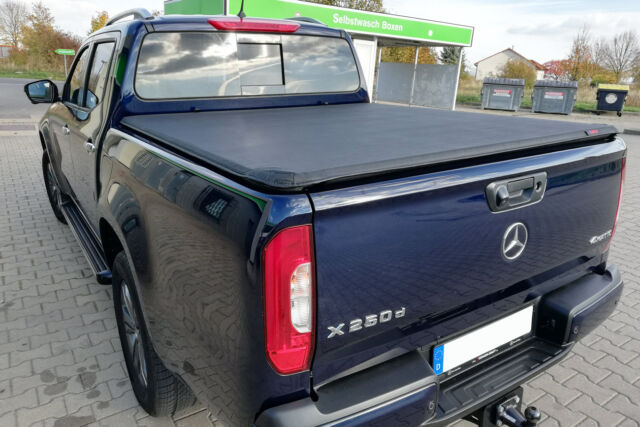 Mercedes X Class Soft Tonneau Cover Eagle1 Roll Lock Premium Load Bed Cover For Sale Online Ebay