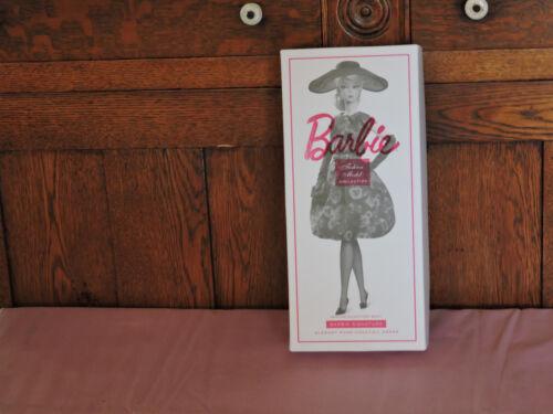 2017 Silkstone Barbie Elegant Rose Cocktail Dress  Mattel Doll-- mint FJH77