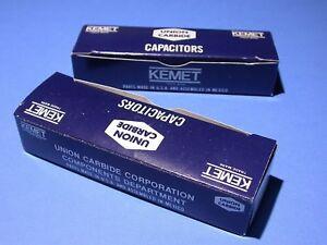 75pc Kemet 22uF 16v 20/% Hermetic Tantalum capacitors T110B226M015AS factory box