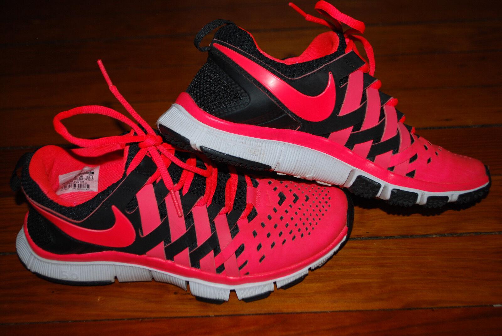 super popular 8ef8e f03ae Men s Nike Free Trainer 5 0 Weave Sneakers (6.5) White   Black   Atomic