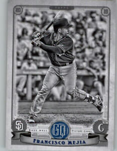 2019-Topps-Gypsy-Queen-Black-amp-White-50-FRANCISCO-MEJIA-Padres-243