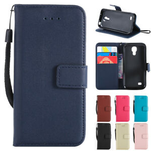 new product 28e51 3a550 Details about Luxury Leather Wallet Case Flip Card Slot Cover for Samsung  Galaxy S3 S4 S5 Mini