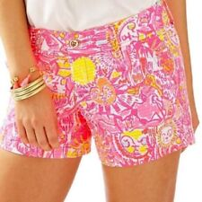 Lilly Pulitzer NWT Callahan Shorts in More Kinis In The Keys Pink Pout $64