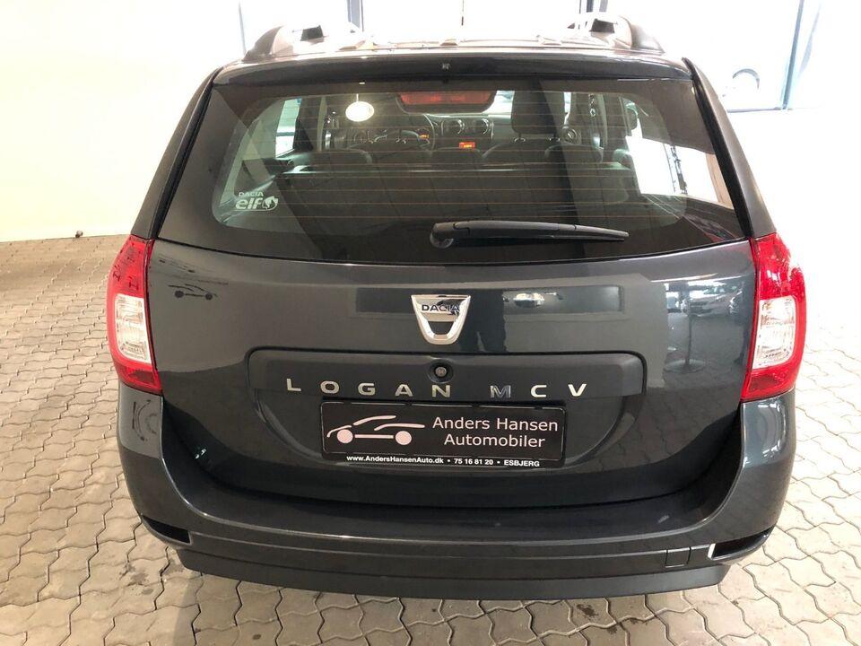 Dacia Logan 1,2 16V Base MCV Benzin modelår 2017 km 48000