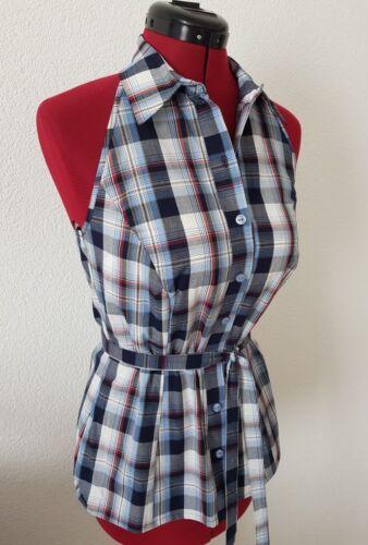 sweng damen hemd ärmellos shirt sleeveless рубашка без рукавов